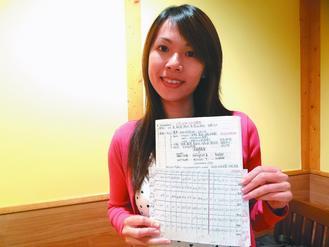 李婕甄今年考上臨床心理師證照榜首。